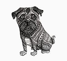 Pug dog aztec mayan ornate print tribal pattern T-Shirt