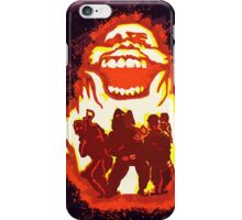 Pumpkin carving Ghost Busters iPhone Case/Skin