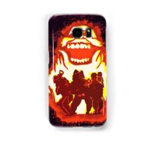 Pumpkin carving Ghost Busters Samsung Galaxy Case/Skin