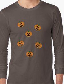 Jack O' Lanterns Long Sleeve T-Shirt