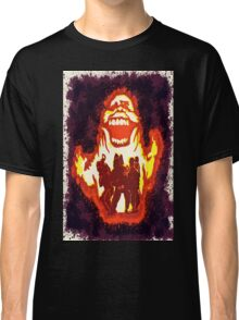Pumpkin carving Ghost Busters Classic T-Shirt