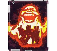 Pumpkin carving Ghost Busters iPad Case/Skin