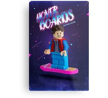 Back To The Future  Lego Marty Mcfly Metal Print