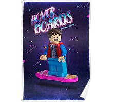 Back To The Future  Lego Marty Mcfly Poster