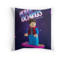 Back To The Future  Lego Marty Mcfly Throw Pillow