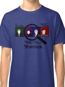 BBC Sherlock Squares Classic T-Shirt