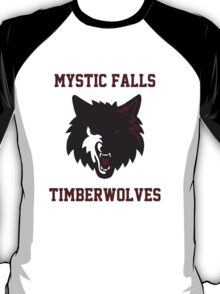 Mystic Falls Timberwolves T-Shirt