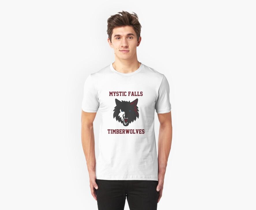 Mystic Falls Timberwolves by ashedgreg
