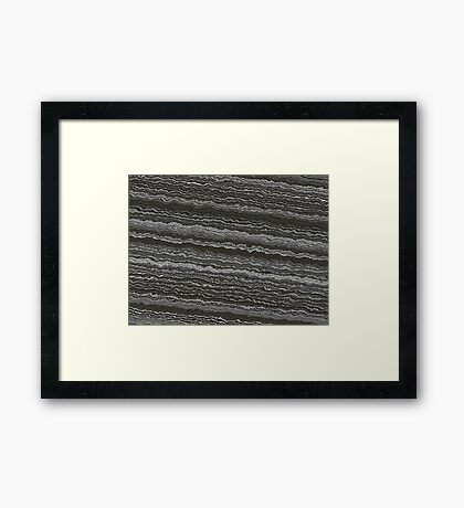 Earth Crust Framed Print