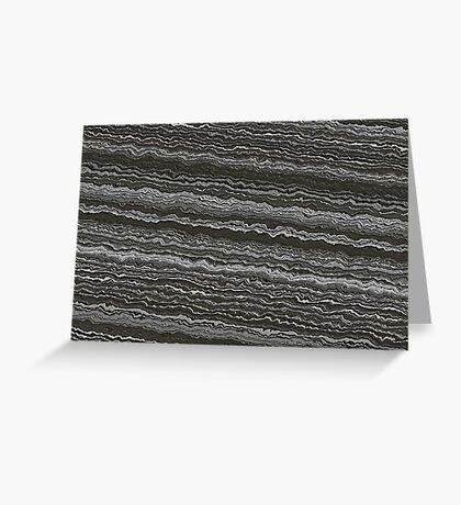 Earth Crust Greeting Card
