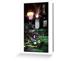 Champagne Sparkler Greeting Card