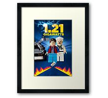 Lego Back To The Future -  Marty McFly Framed Print