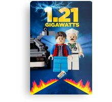 Lego Back To The Future -  Marty McFly Metal Print