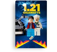 Lego Back To The Future -  Marty McFly Canvas Print