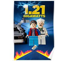 Lego Back To The Future -  Marty McFly Poster