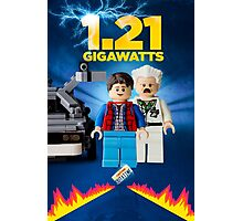 Lego Back To The Future -  Marty McFly Photographic Print