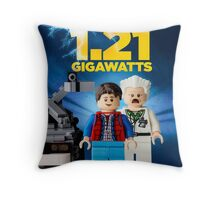 Lego Back To The Future -  Marty McFly Throw Pillow