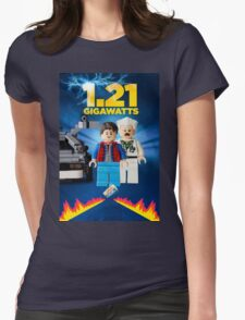 Lego Back To The Future -  Marty McFly Womens Fitted T-Shirt