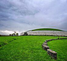 newgrange passage tomb by Michelle McMahon