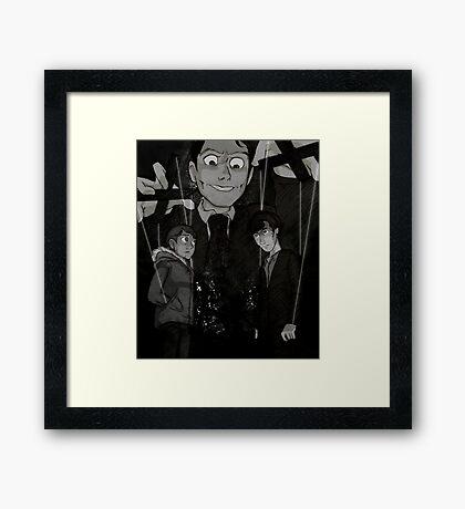 Gottle O' Geer Framed Print
