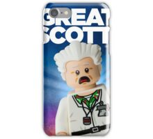 Lego Doc Brown Back To The Future iPhone Case/Skin