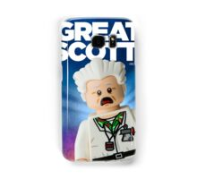 Lego Doc Brown Back To The Future Samsung Galaxy Case/Skin