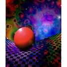 Something Out Of Nothing iPhone Case by christopher r peters