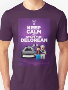 Keep Calm and start the delorean T-Shirt