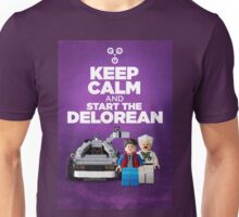 Keep Calm and start the delorean Unisex T-Shirt
