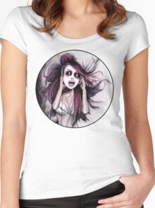 LISTEN TO MUSIC Women's Fitted Scoop T-Shirt