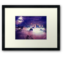 Watchtower on Kronos Framed Print