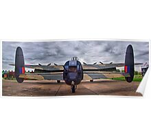 On The Tarmac - Just Jane - HDR Poster