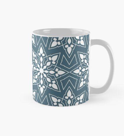 New Year; Christmas; winter. Lace pattern Mug