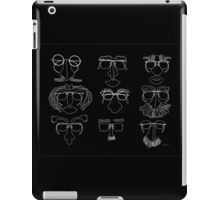 Eyeglasses w Faces 5G iPad Case/Skin