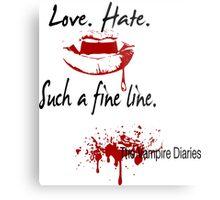 The Vampire Diaries Metal Print