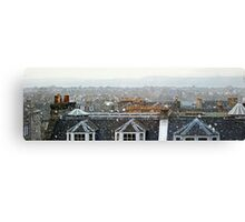 Edinburgh in the Snow Canvas Print