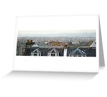 Edinburgh in the Snow Greeting Card