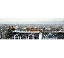 Edinburgh in the Snow Photographic Print