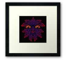 GREEN MAN 2 Framed Print