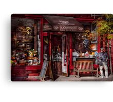 New York -  Store - Greenwich Village - Il Cantuccio  Canvas Print