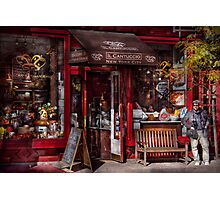 New York -  Store - Greenwich Village - Il Cantuccio  Photographic Print