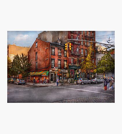 New York - City - Corner of One way & This way  Photographic Print