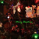 Merry Christmas in Green by aussiebushstick