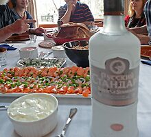 Russian Blini Thanksgiving by George Petrovsky