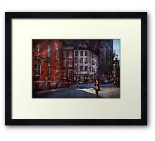 New York - City - Greenwich Village - Northern Dispensary  Framed Print