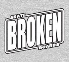 Star Wars Broken Logo Tshirt One Piece - Long Sleeve