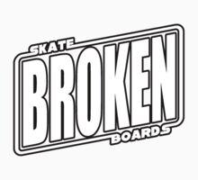 Star Wars Broken Logo Tshirt Kids Clothes