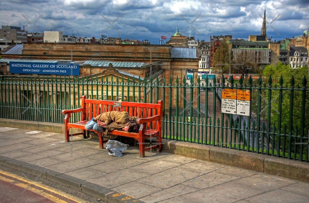 Down and Out in Edinburgh by Tom Gomez