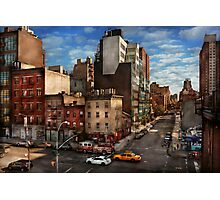New York - City - Greenwich Village - The corner of 10th Ave & W 18th St  Photographic Print