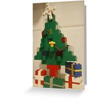 Lego Tree Greeting Card